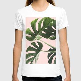 Monstera x Pink T-shirt