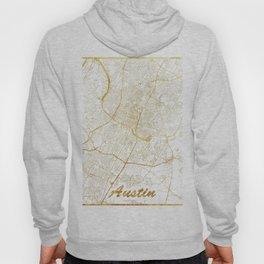 Austin Map Gold Hoody