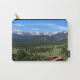 A Glorious Morning In The Rockies Carry-All Pouch