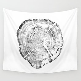 Tree Ring Year Wall Tapestry
