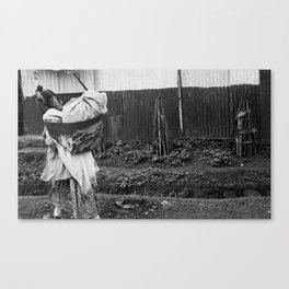 Ethiopian Woman Canvas Print