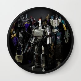 """DEADLY TRIO""  Wall Clock"