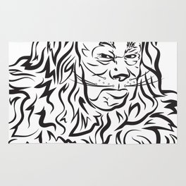 Face The Lion Rug