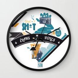 L. Wall Clock