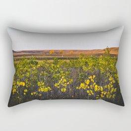 Fall in Faraasen Park, Eastern Montana Rectangular Pillow