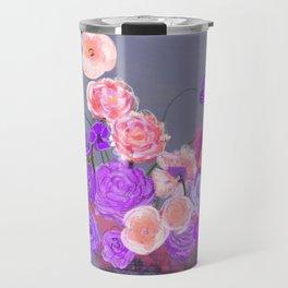 The arrangement in purple Travel Mug