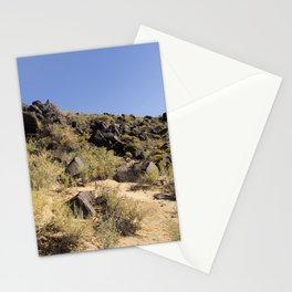 Rocky Landscape, Blue Sky Stationery Cards