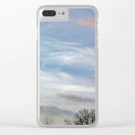 March morning Clear iPhone Case