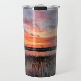 Sunset And Reflections 2 Travel Mug