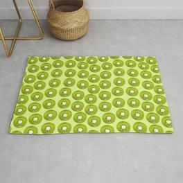 Kiwi Print - Green BG Rug