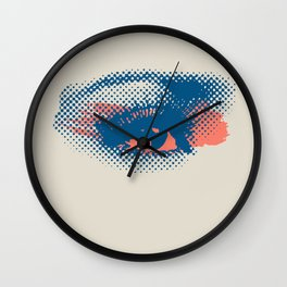 Heaven Is In Your Eyes Wall Clock