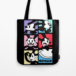 Oswald the Lucky Rabbit: Expressions Tote Bag