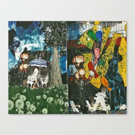 City and Country Canvas Print
