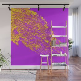 Decoration -Yallow- Lilac Wall Mural