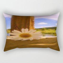 Oops A' Daisy Rectangular Pillow