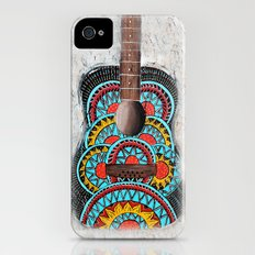 Retro Guitar iPhone (4, 4s) Slim Case
