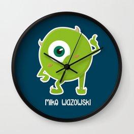 Mike W Wall Clock