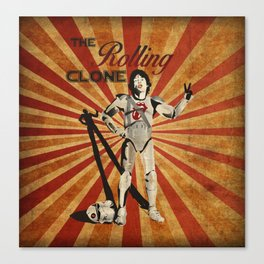 The Rolling Clone Canvas Print
