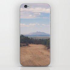 Down Desert Roads iPhone Skin