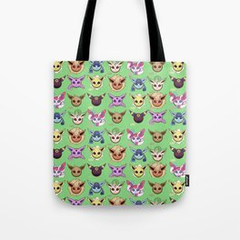 Eeveelutions Green Tote Bag