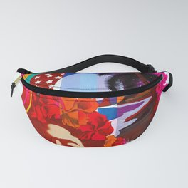Hawaii - Vintage Airline Travel Poster Fanny Pack