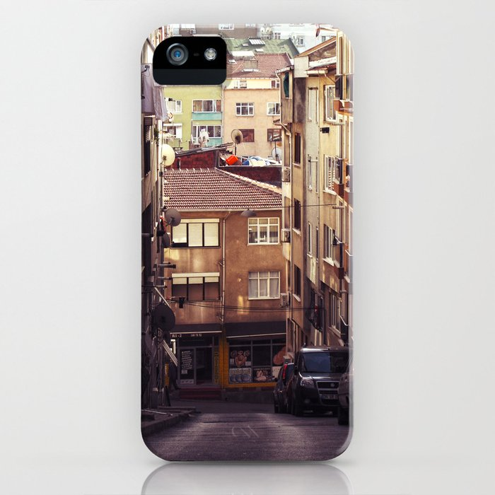 Small streets of Istanbul iPhone Case