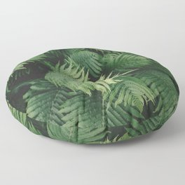 Reaching Ferns Floor Pillow