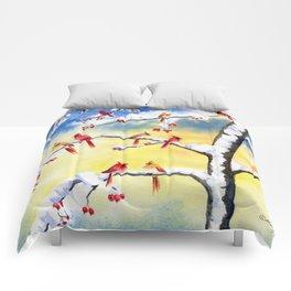 Winter Song 2 Comforters