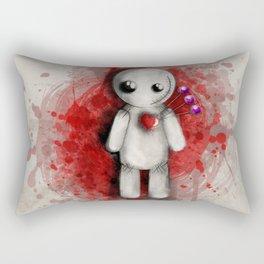 Halloween Theme [Voodoo Doll] Rectangular Pillow
