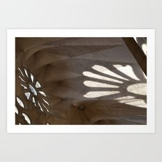 Sunlight in Sagrada Familia Art Print