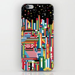 Flagscapes: World Cityscape iPhone Skin