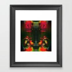 303030 (J Nude Glitch) Framed Art Print