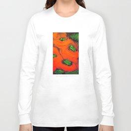 Red Garden Long Sleeve T-shirt