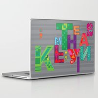 typo Laptop & iPad Skins featuring typo by nuage rouge