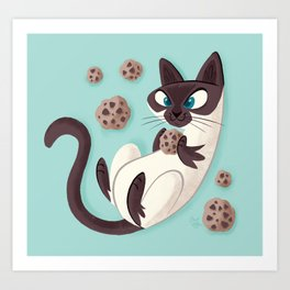 Elvis Want a Cookie? (from the My Favorite Murder podcast) Art Print