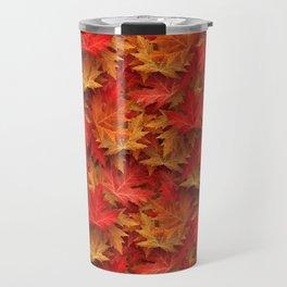 Autumn Case Fall Leaves Travel Mug