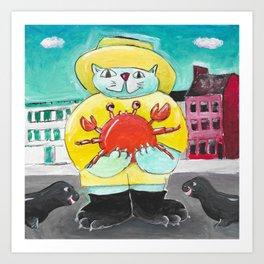 Maryland Cat Art Print