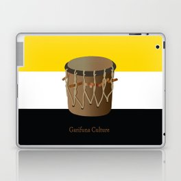 Garifuna Culture - Flag and Drum Laptop & iPad Skin