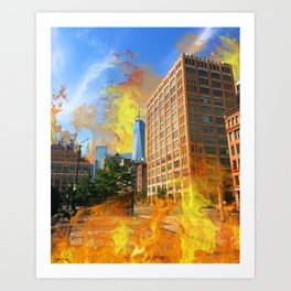 Hot as Hell Art Print