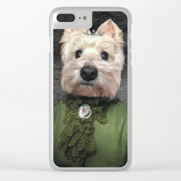 Lady Misty Clear iPhone Case