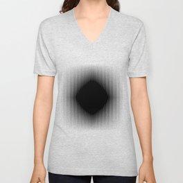 The Black Hole Optical Illusion Unisex V-Neck