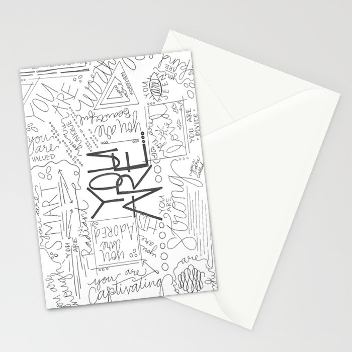 You Are Stationery Cards