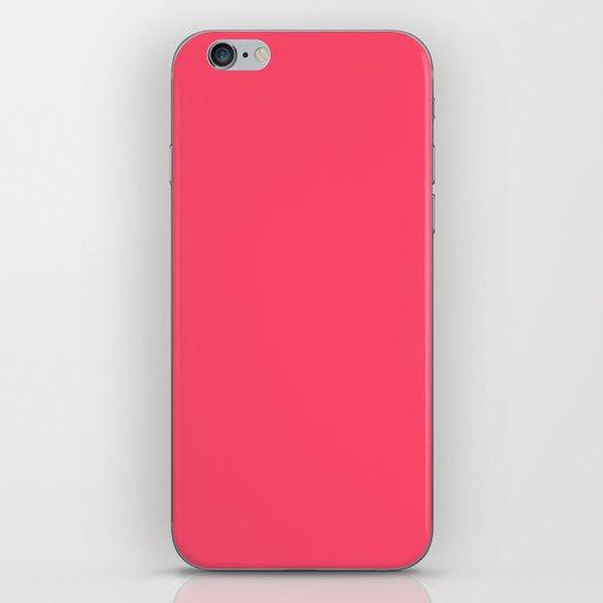 Pinky Red iPhone & iPod Skin