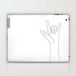 Love Hand Gesture Laptop & iPad Skin