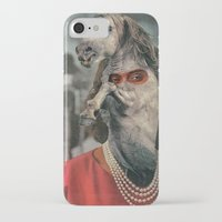 helen green iPhone & iPod Cases featuring Horsehead Helen  by Computarded