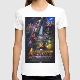 Infinity War Poster T-shirt