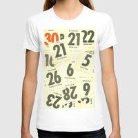 calendar T-shirts featuring CLOSEUPS - Calendar Sheets by Cordula Kerlikowski