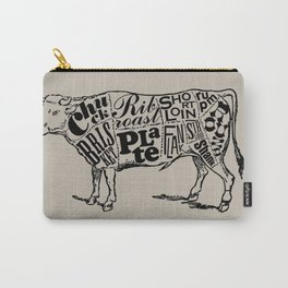 Cow Cuts Carry-All Pouch