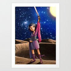 Mercury Princess Art Print