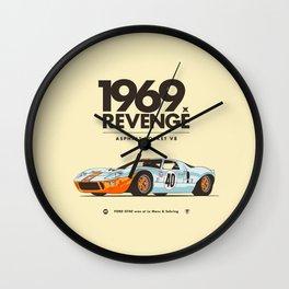 1969 Wall Clock